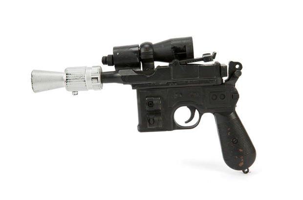 Jedi'ın lazer silahına 550 bin dolar