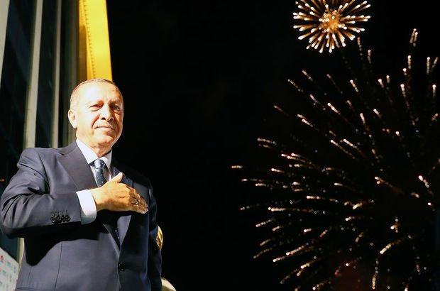 Cumhurbaşkanı Erdoğan'a rekor oy son dakika