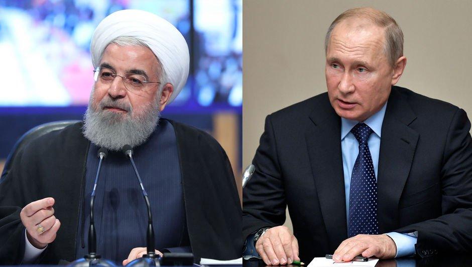 Putin ve Ruhani Erdoğan'ı tebrik etti