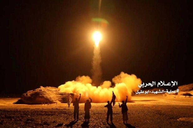 Riyad'a atılan füzeler havada imha edildi!