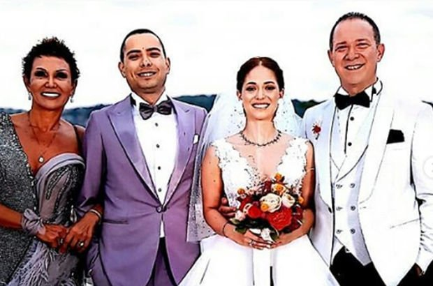 Sümer Ezgü ve Serap Paköz'ün kızları Ceren Ezgü evlendi