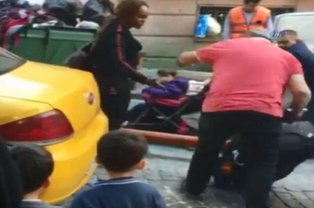 Turist yolcusunun bavulunu fırlatan taksiciye meslekten men