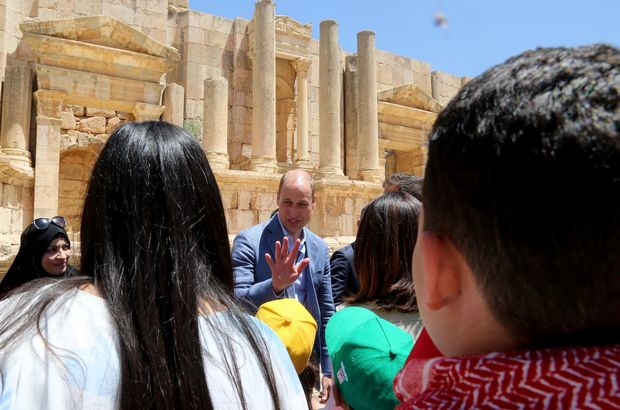 Prens William'dan ilk kez Kudüs ve Filistin ziyareti