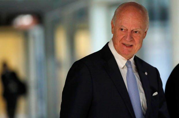 BM Özel Temsilcisi Mistura'dan Cenevre'de Suriye toplantısı