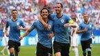 Uruguay lider bitirdi