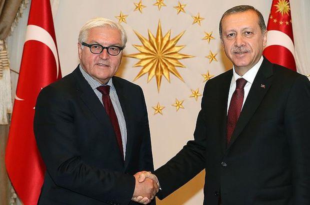 Son dakika... Almanya Cumhurbaşkanı Steinmeier, Erdoğanı tebrik etti