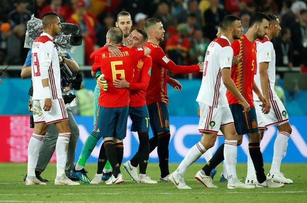 İspanya - Fas MAÇ SONUCU Dünya Kupası maçları