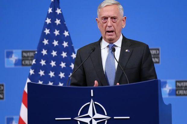 ABD Savunma Bakanı Mattis'ten açıklama