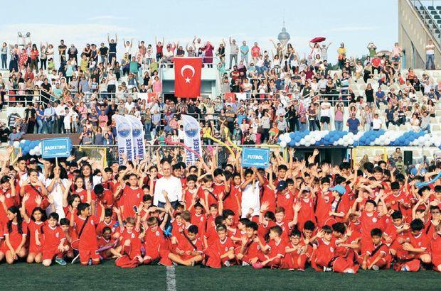 İstanbullu öğrenciler için spor dolu yaz tatili