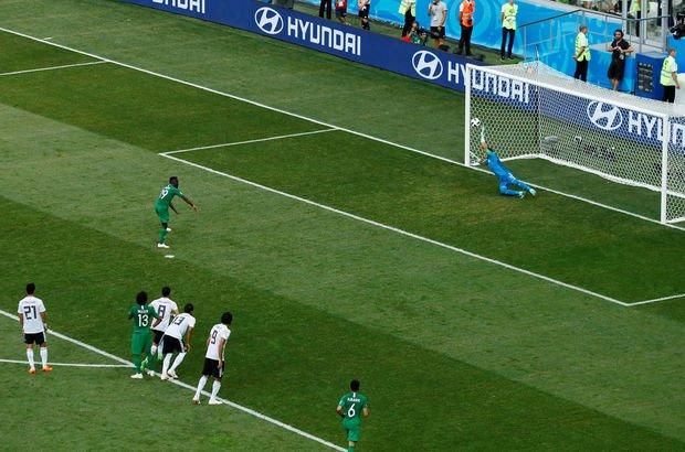 Suudi Arabistan'ın son dakika golüne dayanamayarak kalp krizi geçirdi!