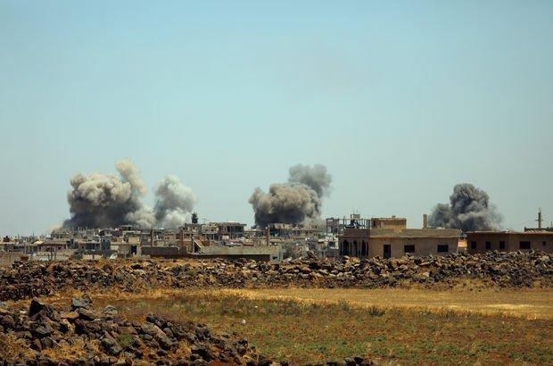 Esad rejiminden Dera'ya şiddetli saldırılar!
