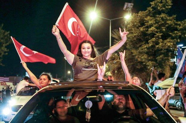 Kiraz'da Erdoğan Karşıyaka'da İnce