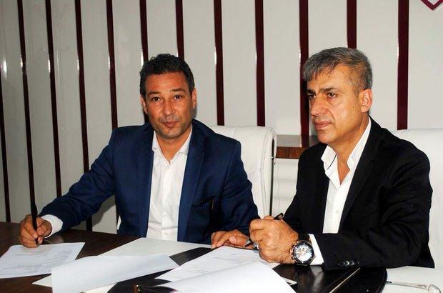 Elazığspor, teknik direktör Orhan Kaynak ile sözleşme imzaladı