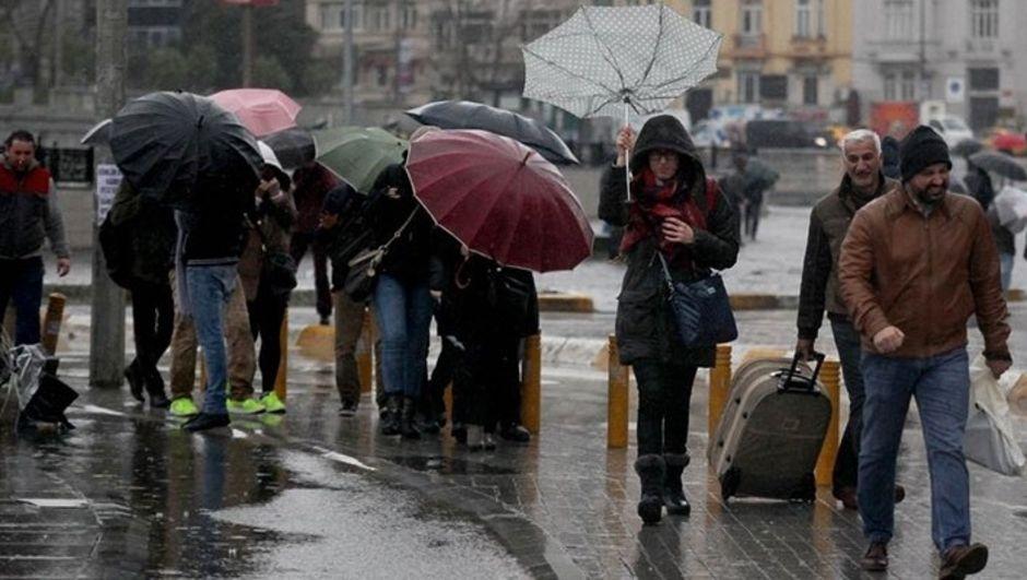 Yalova'ya sağanak yağış uyarısı