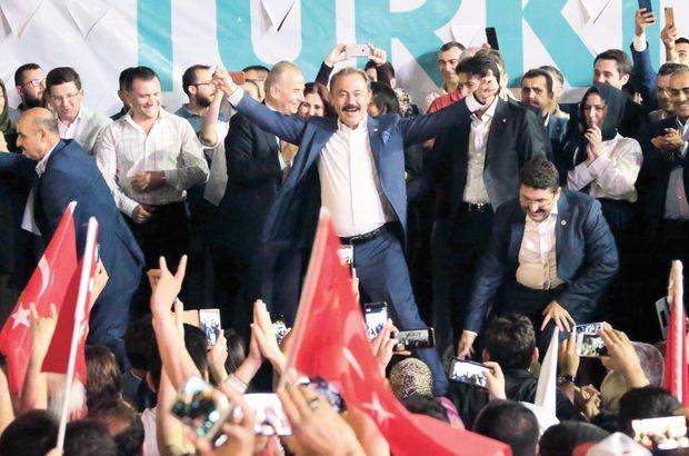 İYİ Parti yüzde 16.84 oy ile 1 vekil çıkardı