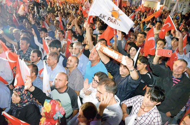 Uşak'ta oylar düştü sayılar aynı kaldı