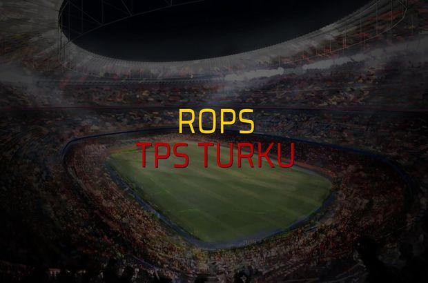 RoPS - TPS Turku rakamlar
