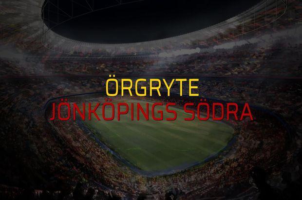 Örgryte - Jönköpings Södra maç önü