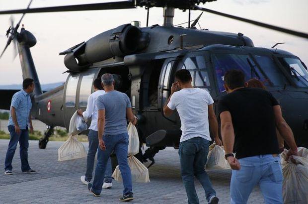 Jandarma helikopterleri seçimde 48 bin 172 oy taşıdı