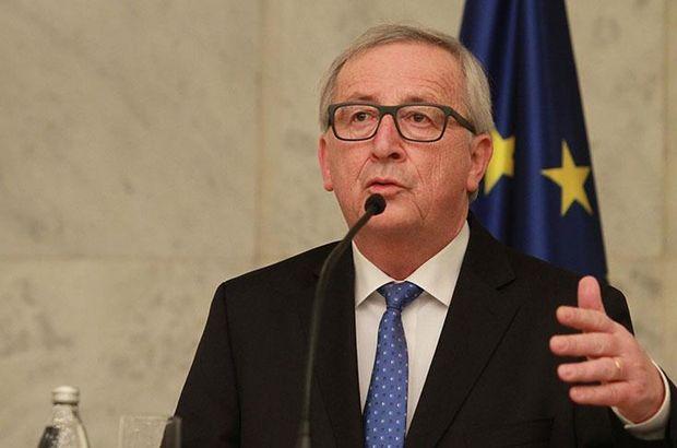 AB Komisyonu Başkanı Juncker'dan üye ülkelere ilişkin açıklama