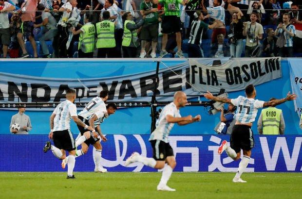 Nijerya: 1 - Arjantin: 2   MAÇ SONUCU