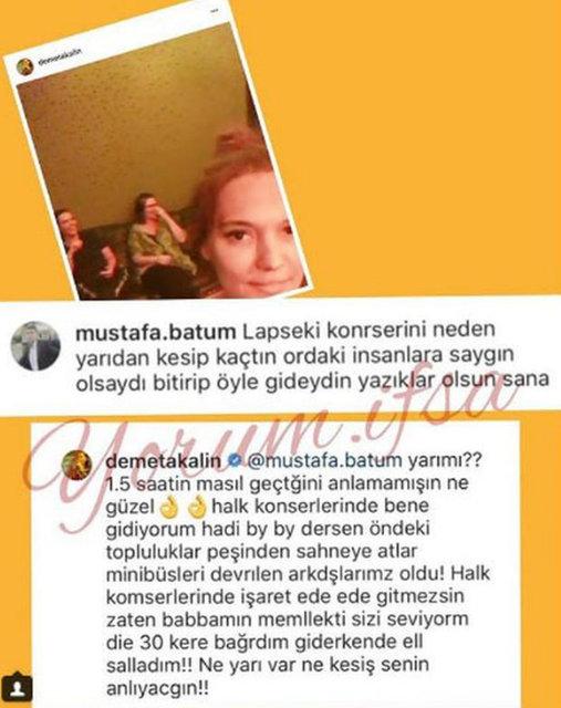 Demet Akalın'ı kızdıran yorum! - Magazin haberleri