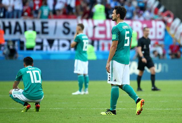 Almanya, Dünya Kupası'ndan elendi, tüm ülke yasa boğuldu! 1938'den sonra ilk kez