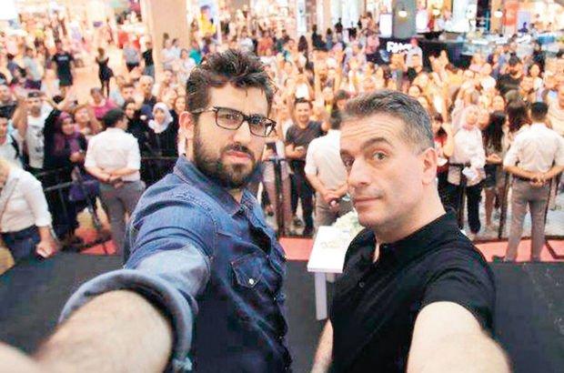 Murat Cemcir ve Doğu Demirkol'dan İzmir selfie'si - Magazin haberleri