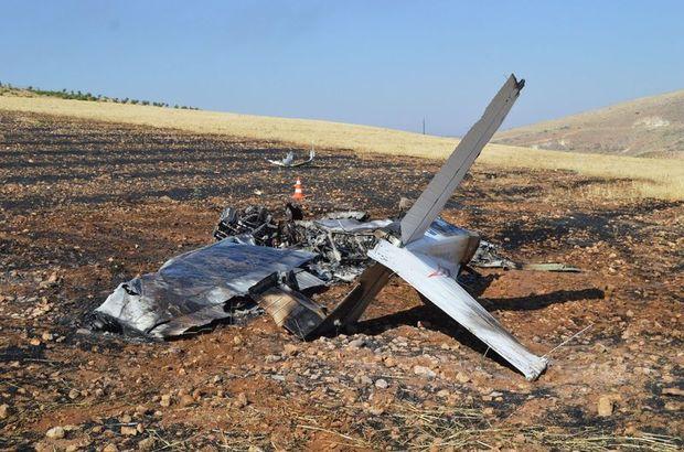 Son dakika: Adıyaman'da eğitim uçağı düştü! Pilot hayatını kaybetti
