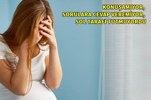 Hamileyken hayatının şokunu yaşadı!