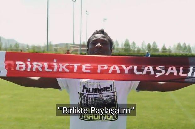 Kayserispor'un yıldızlarından Türkiye'nin EURO 2024 adaylığına destek