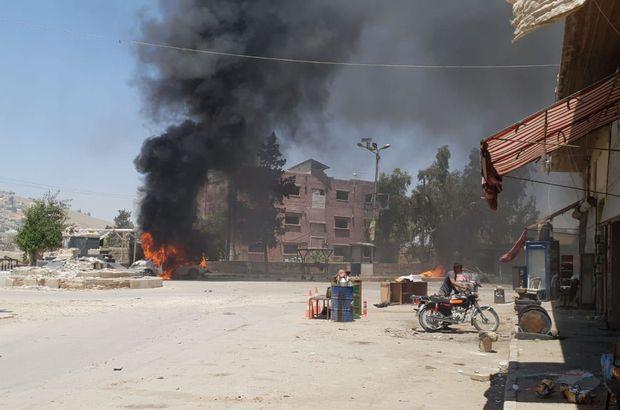Afrin'de bomba yüklü 2 araçla saldırı: 6 ölü!