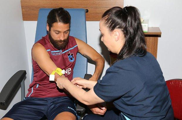 Trabzonspor'da kamp öncesi sağlık testi!