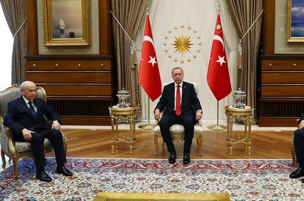 Son dakika: Erdoğan ve Bahçeli arasındaki kritik görüşme sona erdi!