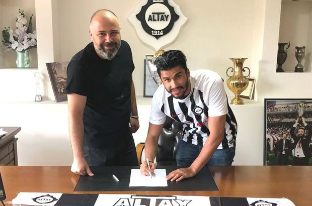 Altay'da Paixao imzaladı
