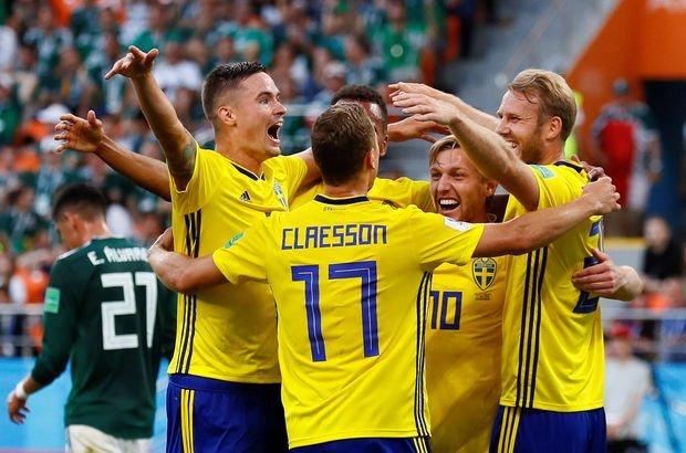Meksika İsveç maçı sonucu ve özeti! Almanya'ya büyük şok! Dünya Kupası'nda F Grubu'ndan çıkanlar!