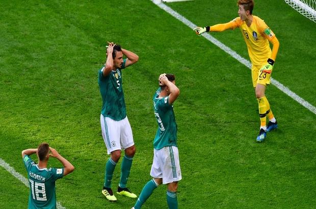 Son şampiyon Almanya tarihinde ilk kez Dünya Kupası'na gruplarda veda etti