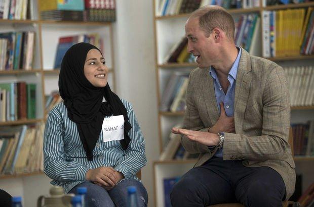 Prens William'dan Ramallah'a ziyaret!