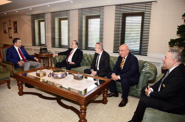 Galatasaray Başkanı Mustafa Cengiz, Gaziantep'te