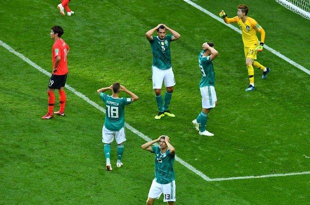 Güney Kore Almanya MAÇ ÖZETİ! Almanya Dünya Kupası'na veda etti!