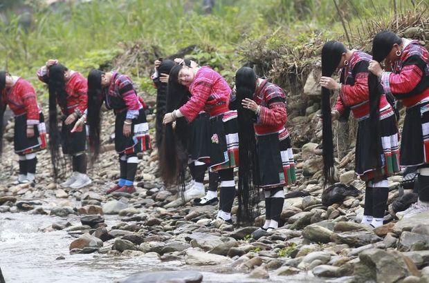 Çinli kadınların uzun, gür ve parlak saçlarının sırrı! Çinli kadınların saç uzatan maske tarifi