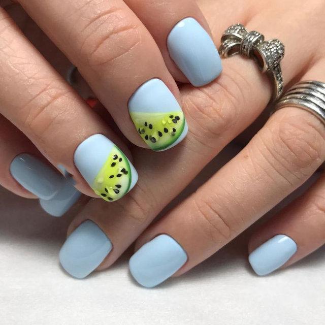 Yaz ayları için tasarlanmış en güzel nail art modelleri