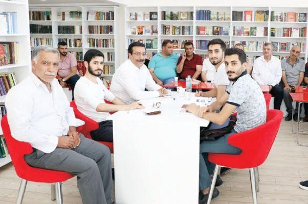 Diyarbakır'da 'Millet Kıraathanesi' hizmete açıldı