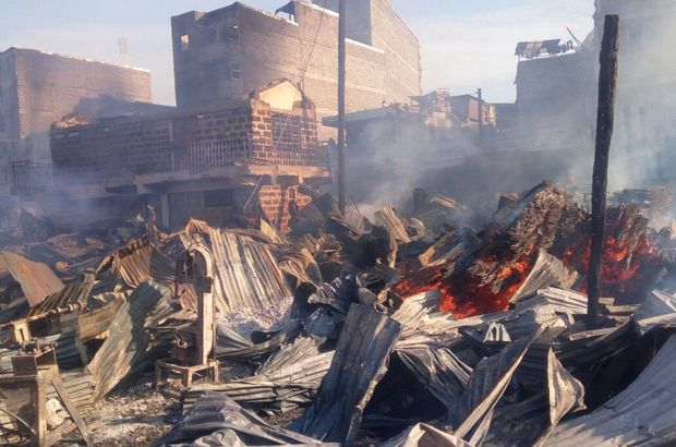 Kenya'da pazar yerinde yangın: 15 ölü ile ilgili görsel sonucu
