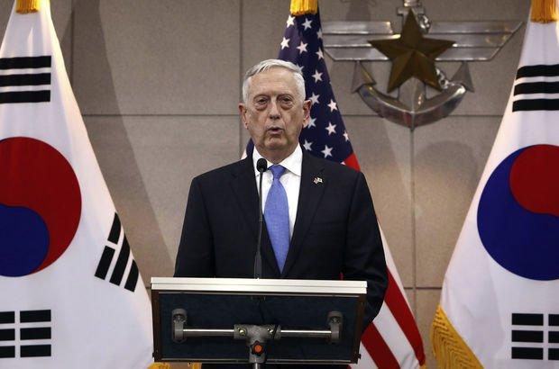 Mattis: ABD, Güney Kore'den askerlerini çekmeyecek!