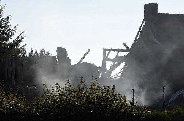 Son dakika... Almanya'da patlama: Ölüler var!