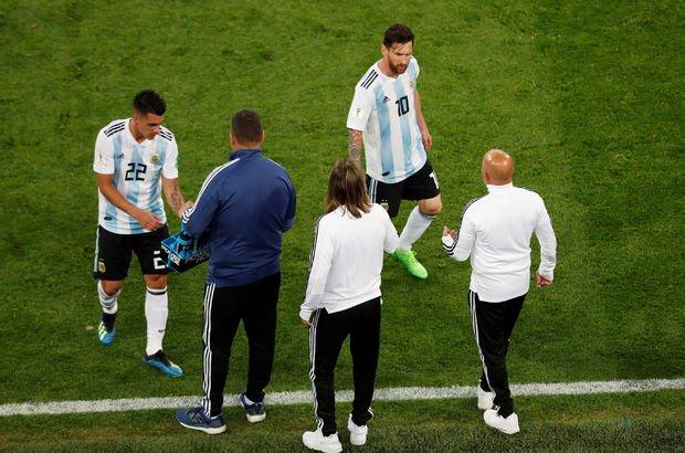 Sampaoli değişiklik için Messi'ye sordu