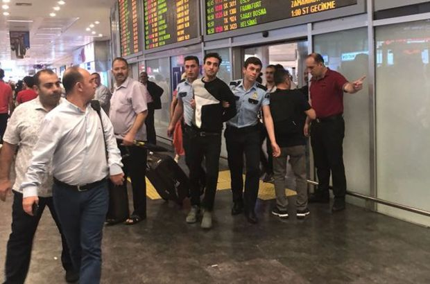 Havalimanında panik atak krizi alarma yol açtı