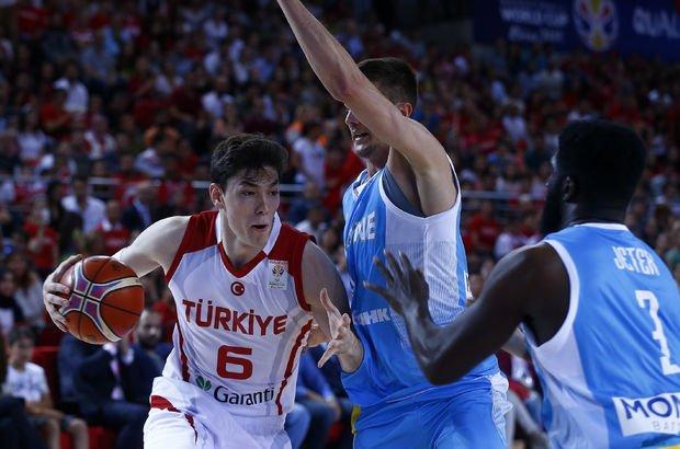 Türkiye Ukrayna MAÇ SONUCU - Türkiye Ukrayna (Basketbol) maçı hangi kanalda, saat kaçta?