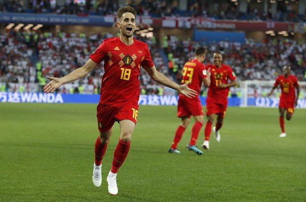 İngiltere Belçika MAÇ ÖZETİ - (Dünya Kupası maçları) Belçika gruptan lider olarak çıktı